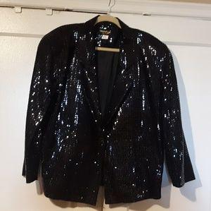 Sequin Vintage Blazer Size Large